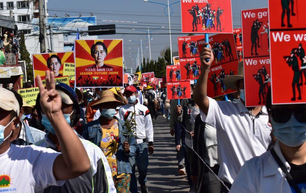 Myanmar militärkupp